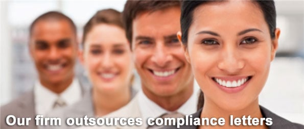 Outsource compliance letters printing USPS Certified Mail