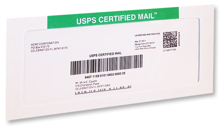 absolutely the easiest way to send usps certified mail