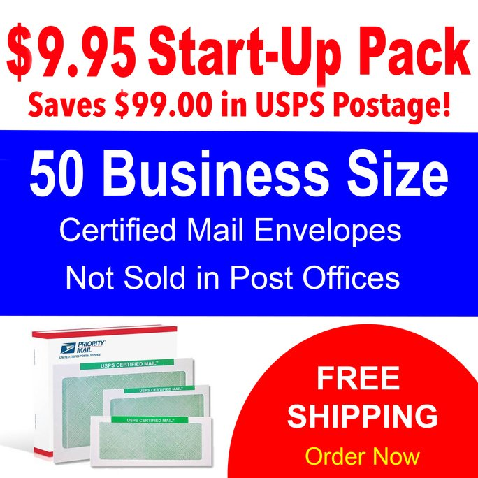 can you send usps certified mail to a po box?